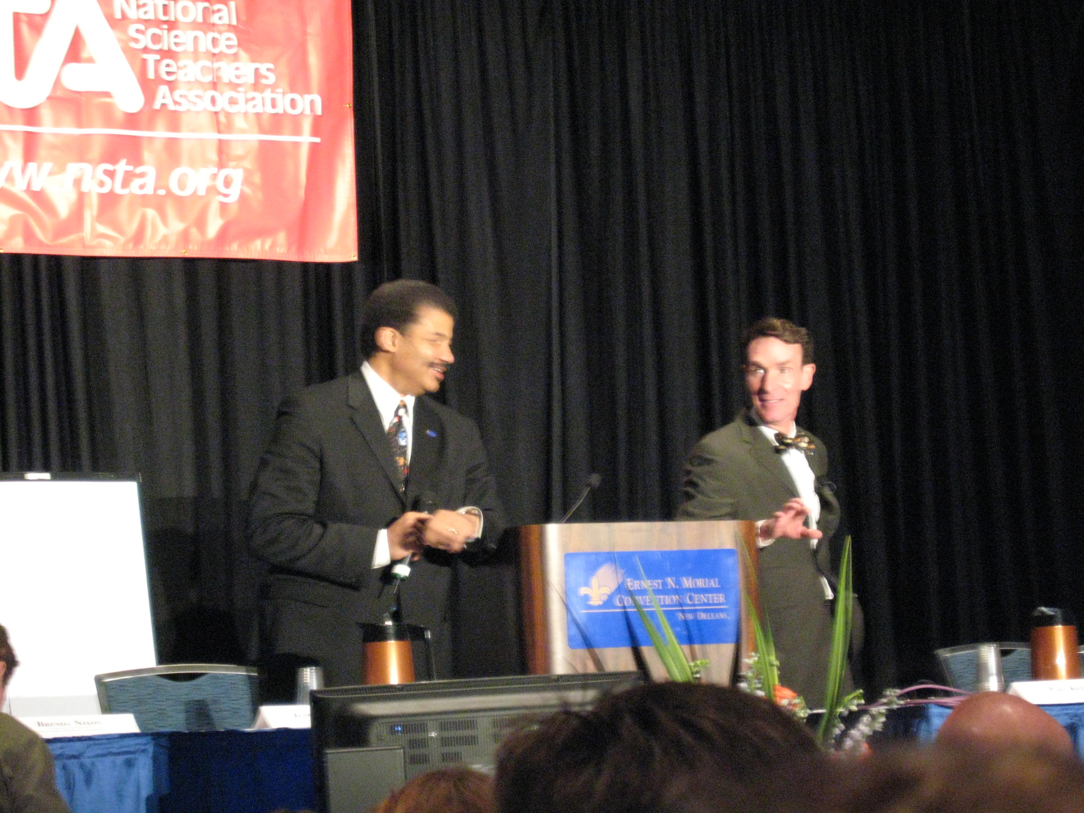 Yesterday, the Planetary Society sponsored a talk with Bill Nye and Neil deGrasse Tyson. It was absolutely amazing, and you can scan through my tweets (and Dale&#8217;s) to see what...