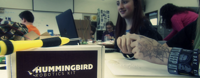 Asfounder of BirdBrain Technologies and maker of the Hummingbird Robotics Kit, Tom Lauwers has been busy infusing robotics into classrooms of all types. In fact, Tomhails from the Carnegie Mellon […]